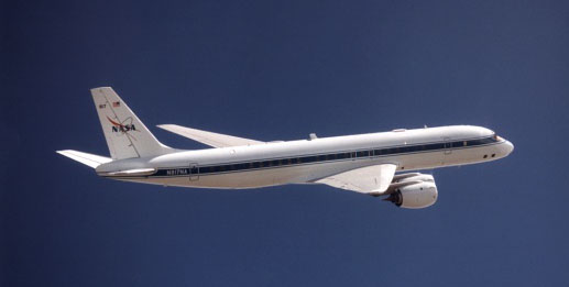 A day on the NASA DC-8